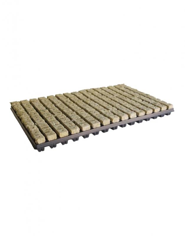 Grodan kőzetgyapot kocka tálcával 77db