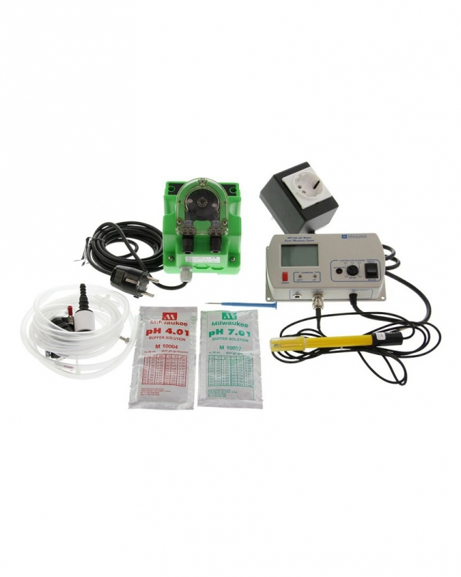Milwaukee pH monitor and controller set