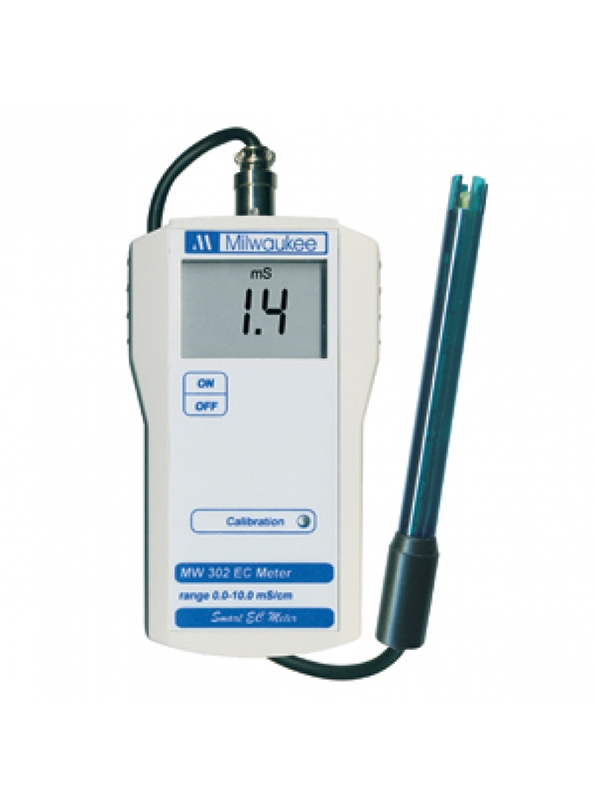 Milwaukee MW302 portable EC and TDS meter