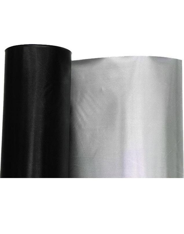 Diamond Fekete-ezüst fólia 1.2m/1m