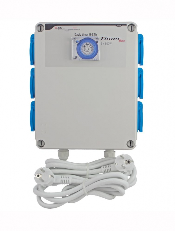 GSE  Timer Box 6 x 600 W