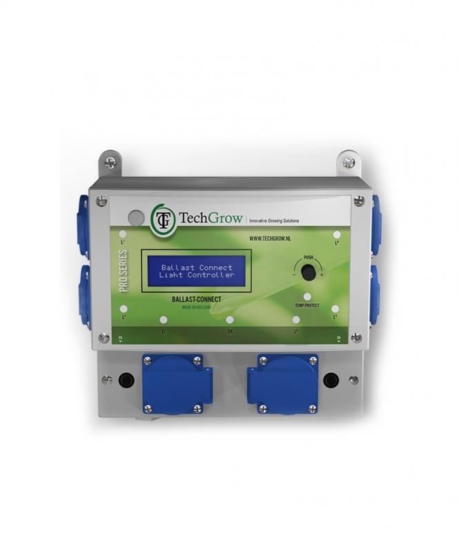TechGrow Ballast Connect 6x600 W digitális időzítő