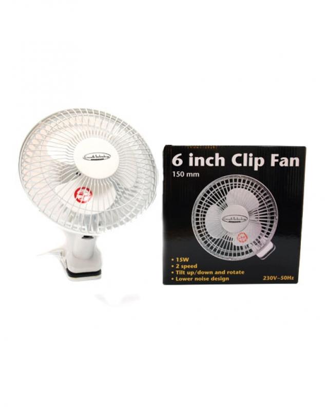 Csíptethető ventilátor 15cm