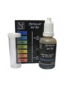 Neptune hydroponics pH test kit 30ml