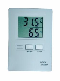 Digital temperature - humidity meter USED
