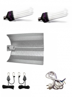 Cfl 125/200W lighting set