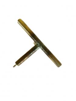 Lyukasztó lágy csőhöz (LPE ) T alakú 1 mm