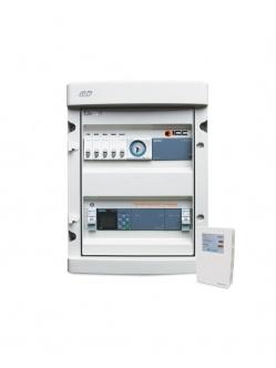 OCL ICC Controller PLC hő/pára/CO2 szenzorral
