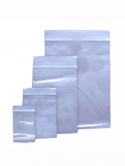 Zip Lock bag clear