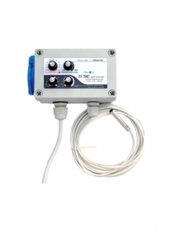 GSE Temp. Min-Max speed & hysteresis controller 1A