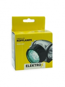 Elektrox Green LED headlamp