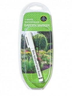 Garland Waterproof Garden Marker (white)