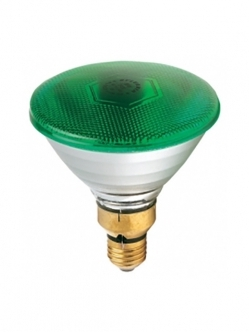 Sylvania Par 38 Green Night Lig E27 80W