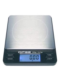 Digitális Mérleg Dipse TP 500x0,01GR