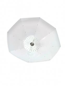 Lumatek Turrican parabola reflektor 100cm Fehér