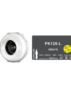 Prima Klima PK125-L1 Sebesség Ventilátor 360m3/h