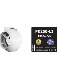 Prima Klima PK250-L1 Sebesség Ventilátor 1300m3/h