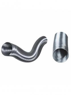 Aluflex (flexible aluminium) duct