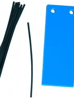 Kék Lap 10 Darabos 12x5CM
