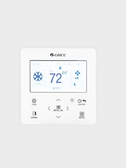 GREE Wall controller with Ambert Comfort X model