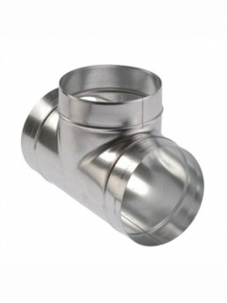 Metal duct T shape 200 USED