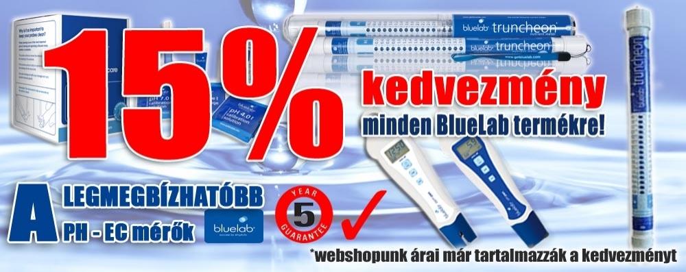 BlueLab akció 15%