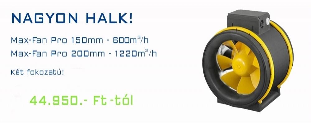 Max-Fan ventillátorok